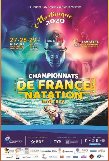 Illustration Championnat de France hiver bassin de 25m