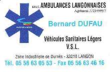 Ambulances Langonnaises LANGON