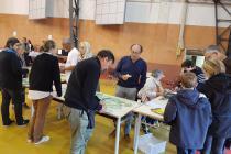 Vente cartons et plaques - Christine, Jacques, Dominique, Pierre