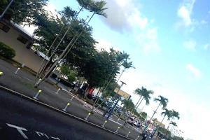 Arrivée bizare en Martinique