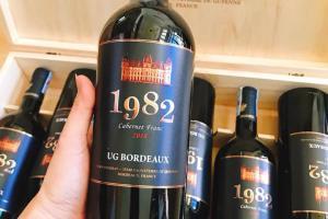 UG Bordeaux cuvée 1982