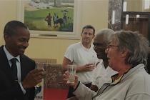 C. Caulié avec le Président de la Fédé Martinique